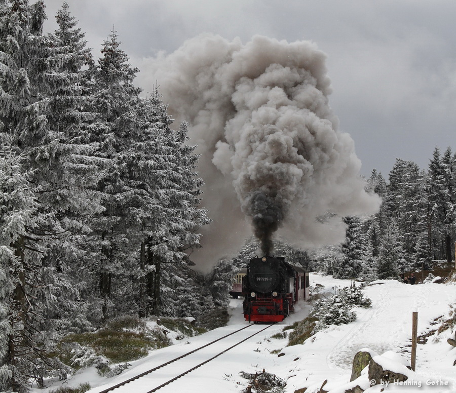 99 7235 Brocken - am Goetheweg